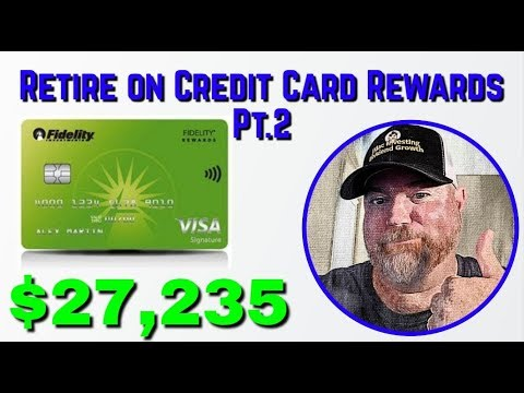 How Much I Have Earned In Credit Card Rewards This Year   Fidelity Rewards Visa Signature Card