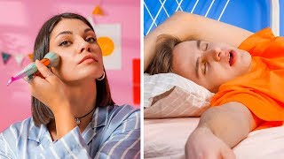 ผู้หญิง vs ผู้ชาย || สถานการณ์ที่แตกต่างอย่างสุดขั้วและสุดฮาโดย 123 GO!