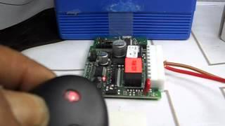 bft sw1 sw 2 butonlu alıcı kartına kumanda tanıştırma trke anlatim burak anahtar