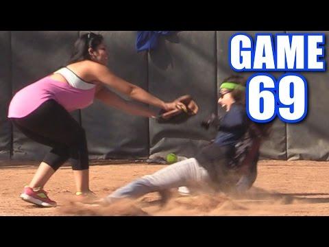 PLAY AT THE PLATE! | On-Season Softball Series | Game 69