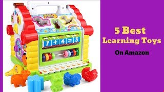 Top 5 Best Learning Toy On Amazon || Best Learning Toys You Like Best. Anytimereviews