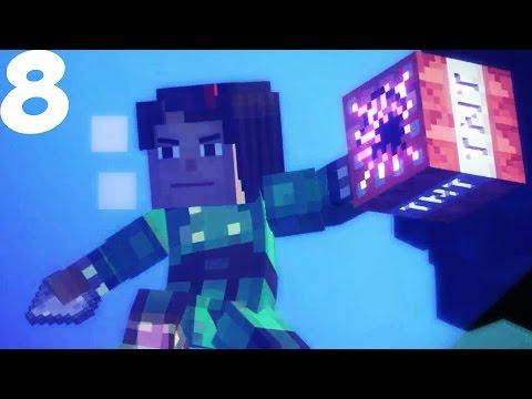 УБИЛИ ИССУШИТЕЛЯ! - Minecraft Story Mode Прохождение - Эпизод 3 - #8