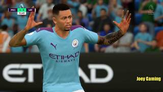 FIFA Gameplay Manchester City vs Leicester City Highlights | Joey Gaming