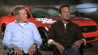 Need for Speed: Scott Waugh & Lance Gilbert Official Movie Interview Part 2 of 2