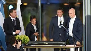 Horacio Rodríguez Larreta y Diego Santilli tomaron juramento al nuevo Gabinete