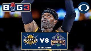 Stephen Jackson lights it up for 22 points in Killer 3's Win | CBS Sports