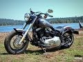 2014 Harley-Davidson Softail Slim vs Victory Gunner Part 1 - MotoUSA