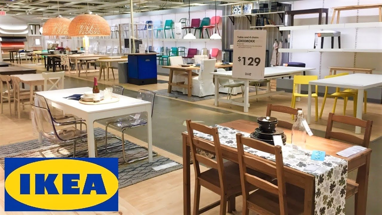 Ikea Kitchen Dining Room Tables Chairs Home Furniture Decor Shop With Me Shopping Store Walk Through Youtube