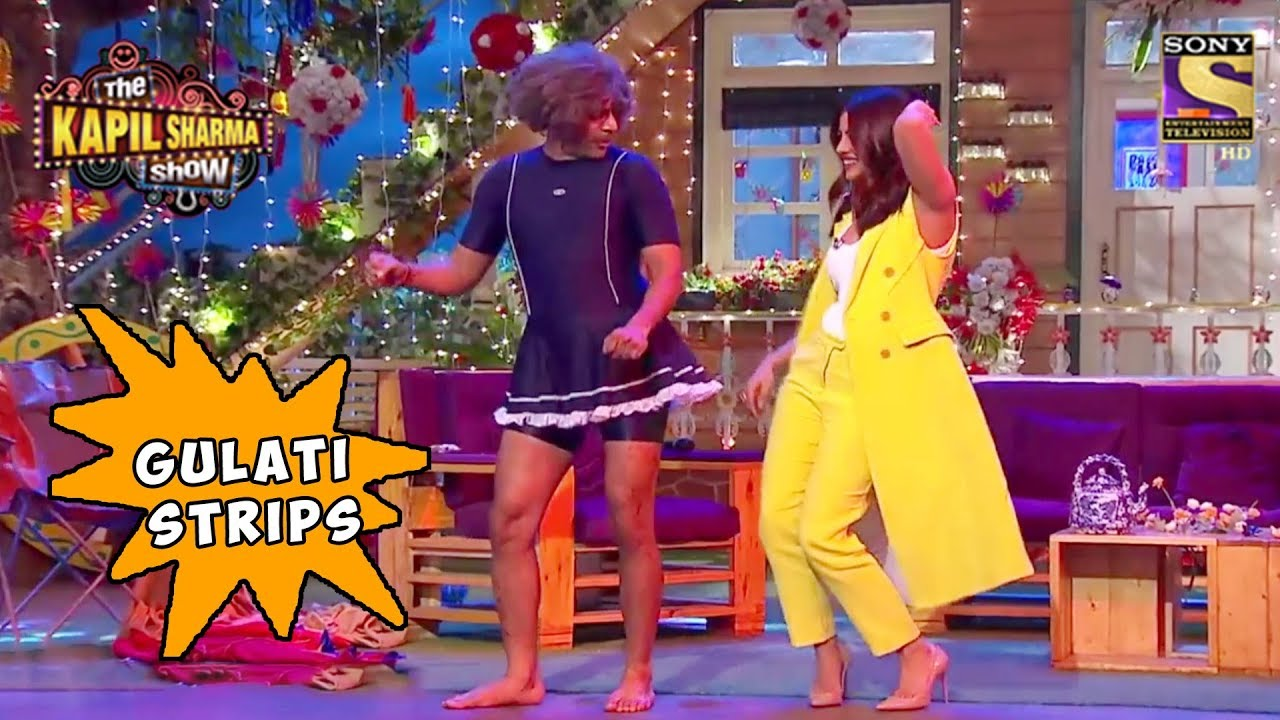 Dr  Mashoor Gulati Strips For Priyanka Chopra - The Kapil Sharma Show