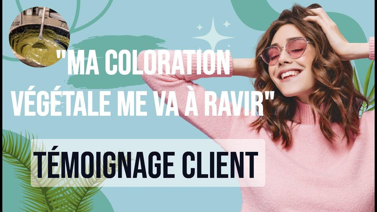caroline ma coloration vgtale me va ravir biocoiff paris - France In Paris Coloration Vgtale