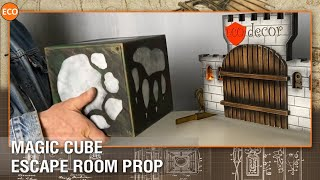 Magic cube - escape room prop (external mag.lock eidtion), wireless charging station
