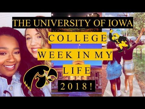 UNIVERSITY OF IOWA | COLLEGE WEEK IN MY LIFE 2018!