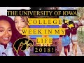 UNIVERSITY OF IOWA | COLLEGE WEEK IN MY LIFE 2018!