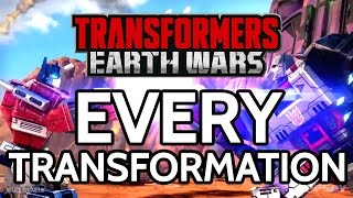 TRANSFORMERS: EARTH WARS - EVERY AUTOBOT AND DECEPTICON UNLOCKED