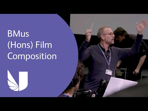 BMus (Hons) Film Composition at the University of West London