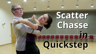 Quickstep Routine With Scatter Chasse | Quickstep