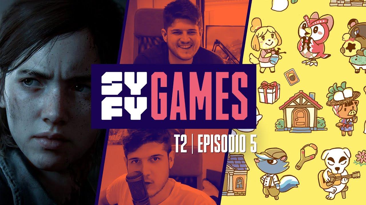 SYFY Games T2 - Episodio 5 con Borja Pavón y Chuso Montero - Especial Animal Crossing