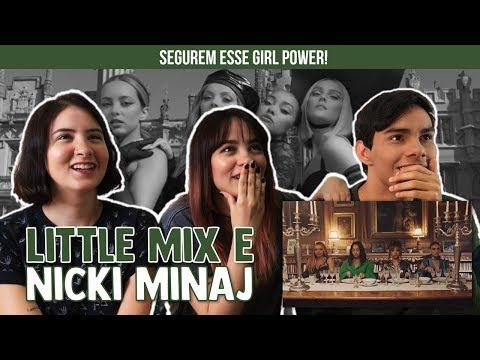 Little Mix - Woman Like Me (feat. Nicki Minaj) | Reaction