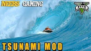 Tsunami Mod - Extreme Jet Ski - GTA 5 Gameplay Video