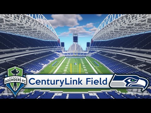 Minecraft - STADIUM - CenturyLink Field (Seattle Seahawks/Sounders) + DOWNLOAD [Official]