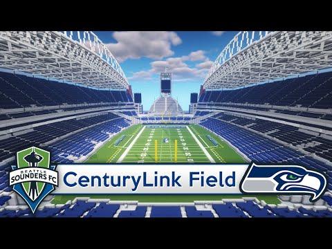 Minecraft - STADIUM - CenturyLink Field (Seattle Seahawks/Sounders) + DOWNLOAD [Official]