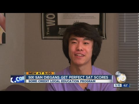 San Diego student gets perfect score on SAT