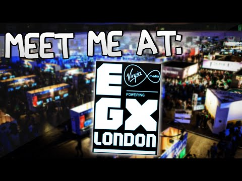 COME MEET ME @ EGX LONDON | 26th & 27th September | TheDiamondMinecart