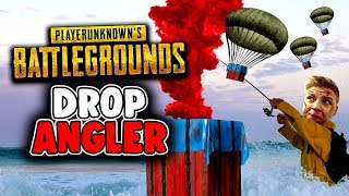 Die Drop Angler - Playerunknowns Battlegrounds - Deutsch German - PUBG
