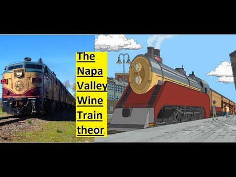 Bob S Burgers Quot The Kids Rob A Train Quot Tv Show Theory Napa Valley Wine Train Youtube