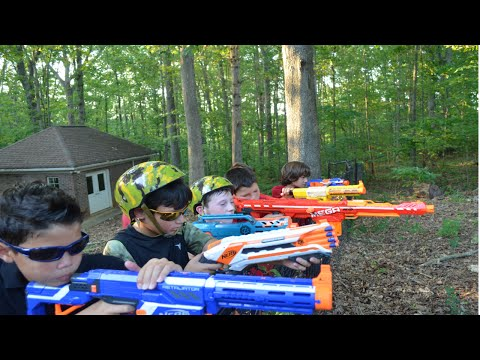 Thumbnail: Nerf War: Undercover (Part 1)