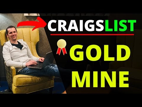 How To Make Money With Craigslist In 2020 👉 Earn $100 A Day From Home!