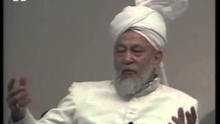 Question And Answer Session 18th June 1996 Part 1 - Islam Ahmadiyya