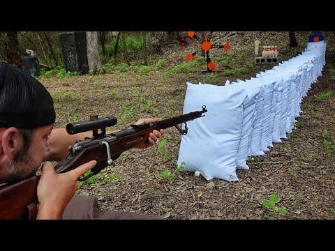 Вопрос: Как овладеть винтовкой и стрелять из укрытия?