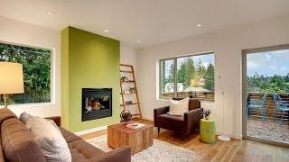 видео Зеленый цвет в сочетании с сиреневым в интерьере, фото.