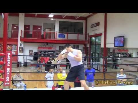 Chinese Olympic Heavyweight Zhang Zhilei Is Training At Global Boxing Gym