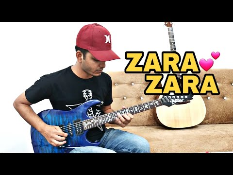 Zara Zara Bahekta Hai (Soft Rock) Guitar Cover With Tabs & Chords | instrumental | RHTDM