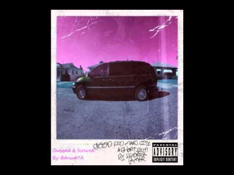 Kendrick Lamar - Poetic Justice (Feat. Drake) (Chopped & Screwed)