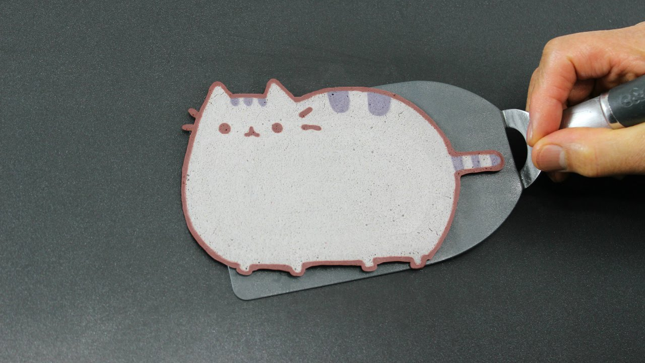 Cat Pancake Art Youtube