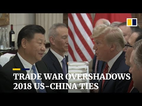 Trade war, spies and sea clashes dominate 2018 US-China relations