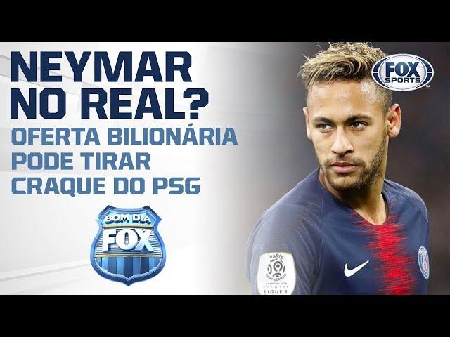 OFERTA BILIONÁRIA! Real Madrid quer Neymar
