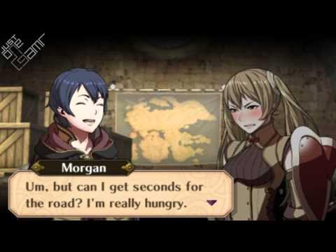 Fire Emblem Awakening - Morgan (Male) & Severa Support Conversations