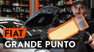 Cum schimbare Motor stergator FIAT GRANDE PUNTO (199) - tutoriale video
