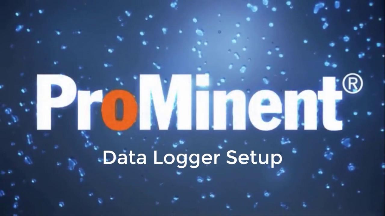 ProMinent DACb - Data Logger Setup