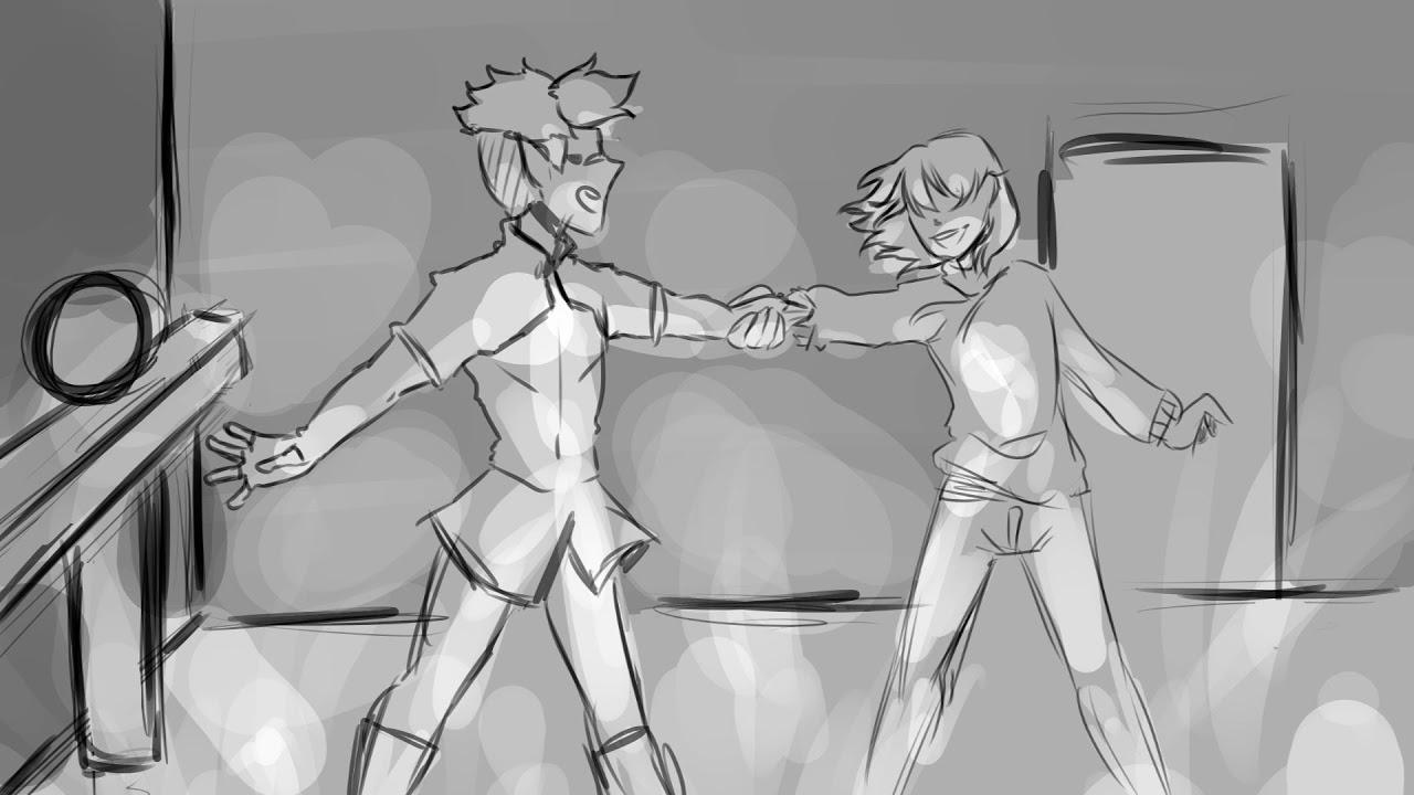 Voltron/Steven Universe   Matt tries to fuse with Shiro Animatic