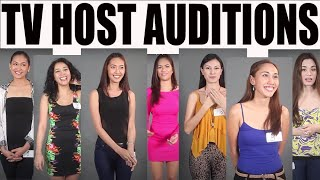 Maganda Filipino TV Show Host Auditions (a sample)