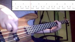 Red Hot Chili Peppers - Death Of A Martian (Bass Cover) (Play Along - Tabs In Video)