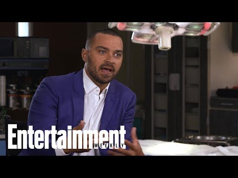 Jesse Williams On April/Jackson Relationship: Fans Hate Us At First! | Entertainment Weekly