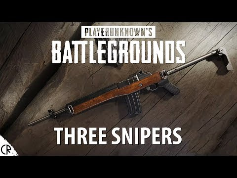 Three Snipers - Player Unknown Battlegrounds