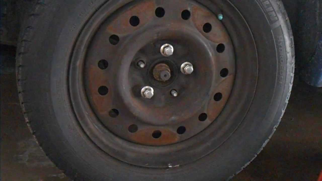 2003 nissan altima front wheel bearing replacement part 1 youtube