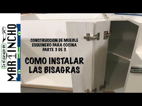 Mueble Esquinero Para Cocina Parte 3 de 3 - YouTube